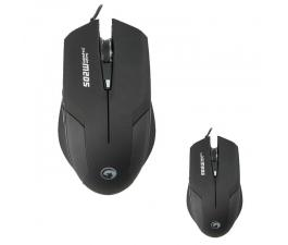 Mouse Marvo  M 205BK  (Led ,USB )